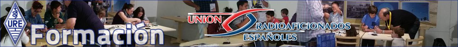 Logo of Formación Unión Radioaficionados Españoles